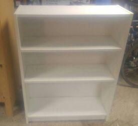 Ikea Billy bookcase, white, 80 x 28 x 106 cm