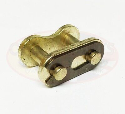 428H Motorcycle Drive Chain Split Link Gold for Honda CG125 Brazil 85-92