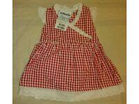 Jojo maman bebe designer dress 3-6 months baby girl BNWT