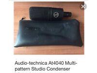 Audio-Technical Cardoid Capacitor