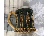 Skeleton Ceramic Collectable Mug As New