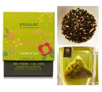 [OSULLOC] JEJU Island Dream Green Tea ( 10 T )