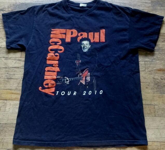 Paul McCartney Concert Tour Shirt 2010
