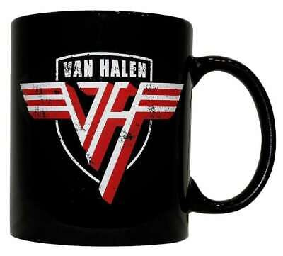 Van Halen Band Mug Funny Birthday Ceramic Mug Coffee Cup Gift For Men Women