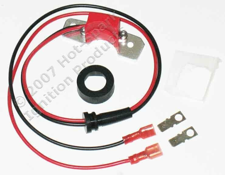 Electronic Ignition Conversion Kit: 1949-74 Ford/mercury 6-cyl 12-volt, Negative