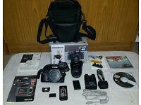 Olympus e420 DSLR camera