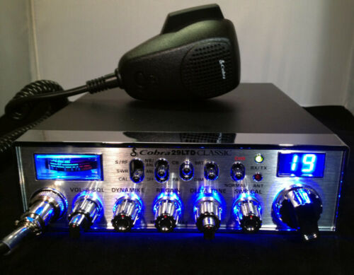 Cobra 29 Ltd Classic Cb Radio - BLUE LIGHT EDITION + PERFORMANCE TUNED