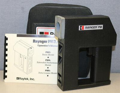 Raytek Rayrpm3 Raynger Pm Pm3 Infrared Thermometer