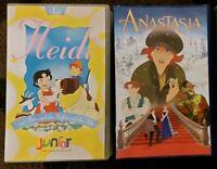 VHS Kinder Kassetten/ Heidi/ Anastasia Hessen - Großkrotzenburg Vorschau