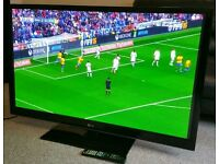 """LG 50"""" Super Slim TV FULL HD BUILT IN FREEVIEW EXCELLENT CONDITION REMOTE CONTROL HDMI FULLY WORKING"""