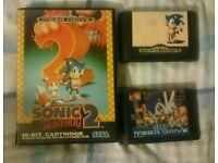Sega Mega Drive Sonic Hedgehog 1/2/3