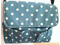 Baby changing bag + travel changing mat