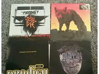Prodigy vinyl. 3 albumns. 1 ltd edition fire jericho remix