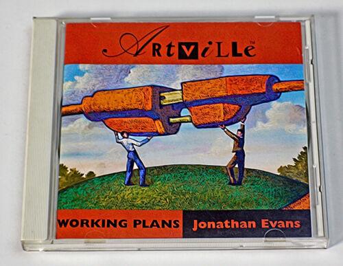 """ARTVILLE CD: """"WORKING PLANS"""" STOCK ILLUSTRATIONS"""
