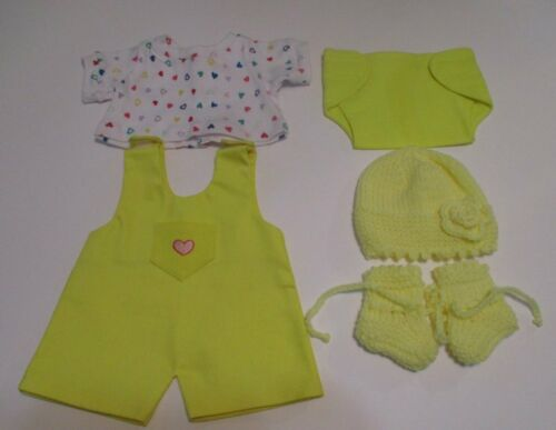 Bitty Baby (American Girl) Pant & Hat Set - 5 pieces - Hearts