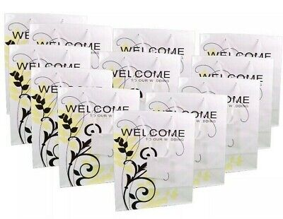 Lot of 24 Welcome To Our Wedding Gift Bags Guest Favors Bridal Party # 3/3808
