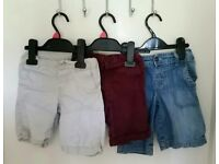 3 pairs of boys shorts aged 2-3 (willing to separate)