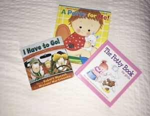 Potty Training Books for Babies/Toddlers (3 books)