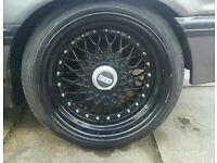 "16"" black bbs wheels 4x100"