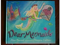 Mermaid story book with letters and gifts