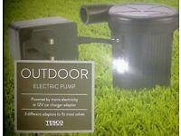 New electric pump