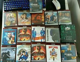 26 HD DVDs job lot bundle movies with HD DVD Xbox player and remote