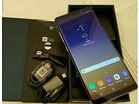 Samsung galaxy note 8 sm n950f 64GB Maple gold boxed unlocked