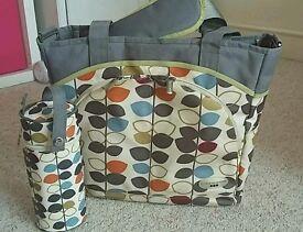 JJ Cole nappy changing bag
