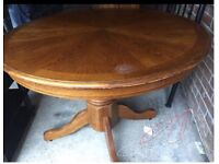 Dinning table 4 chairs. Free delivery