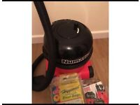 Numatic Hoover with 8 dust bags included