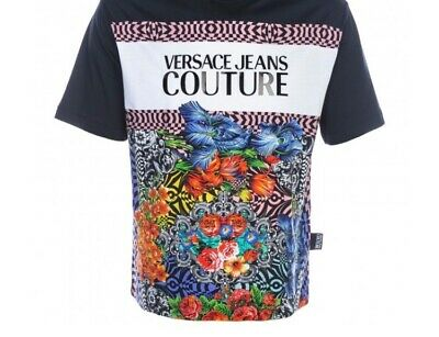 mens versace couture jeans t shirt large BNWT 100% GENUINE