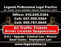 Brampton Traffic tickets Specialist