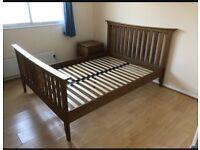 Oak Double Bed Frame