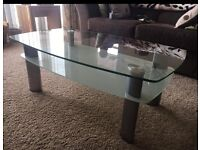 Matching coffee table and tv unit.. beautiful set