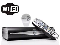 Sky Plus HD Satellite Box X 2 both wifi + a third Sky box all leads and remote controls included
