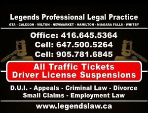 Peel Region Traffic Tickets Specialist