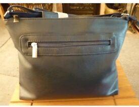 Ladies navy shoulder bag new
