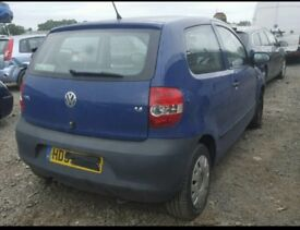 VW FOX 75 1.4 PETROL BLUE 2010 BREAKING FOR ALL PARTS