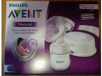 Phillips electric breast pump and bottles