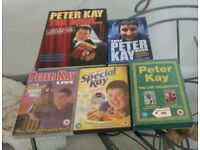 Peter Kay dvds and books