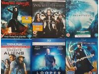 Dvd collection, Bluray
