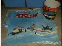 Disney Planes Single duvet set and waste bin