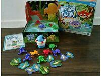 Monkey Dunk Board Game.