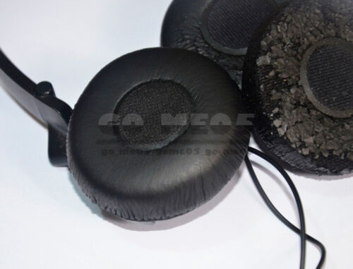 1 Pair Leather Ear Pads Ear Cushion Cover Earpads for Sony MDR-NC7 Headphones