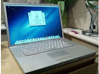 APPLE MACBOOK PRO A1226 * 2 X 2.4GHZ 4GB NEW BATTERY GREAT CONDITION