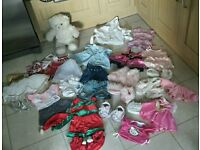 Build a bear bundle of clothes, shoes and accessories with bear