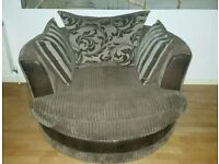DFS Large swivel chair - excellent condition