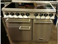 Falcon 1000 Induction Stainless Steel Electric Range Cooker