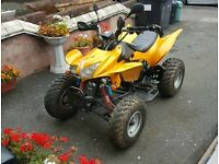 ROAD LEGAL QUAD 2012 NOT RAPTOR MOTORBIKE CBR APACHE