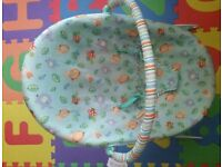 Two Baby bouncer and a breast feeding cushion(bright star and Graco) pick up only